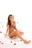 Ragazza in bikini immagine stock