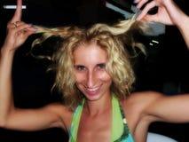 Ragazza bionda Fotografie Stock Libere da Diritti