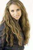 Ragazza bionda con capelli lunghi Immagine Stock Libera da Diritti