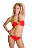Ragazza bionda del bikini Immagini Stock Libere da Diritti