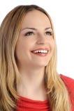 Ragazza bionda felice Fotografia Stock Libera da Diritti