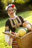 Ragazza bulgara Fotografia Stock