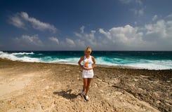 Ragazza caribean Fotografie Stock