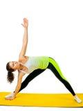 Ragazza che fa yoga Fotografia Stock