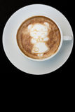 Ragazza cinese Art Coffee recente del nuovo anno Fotografia Stock