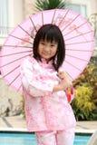 Ragazza cinese asiatica Fotografia Stock Libera da Diritti