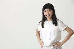 Ragazza cinese felice immagine stock libera da diritti