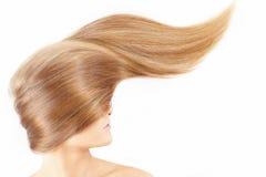 Ragazza con bei capelli Fotografia Stock Libera da Diritti