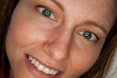 Ragazza con gli occhi verdi Fotografie Stock Libere da Diritti