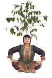 Ragazza in costume indiano Immagine Stock