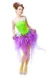 Ragazza in costume leggiadramente Fotografia Stock Libera da Diritti