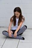 Ragazza creola dell'adolescente Immagini Stock Libere da Diritti
