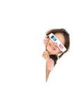 ragazza 3D Fotografie Stock