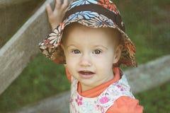 Ragazza del bambino Fotografia Stock