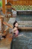 Ragazza del bikini Fotografie Stock