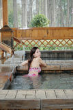 Ragazza del bikini Immagini Stock