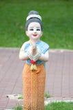 Ragazza del burattino della Tailandia Fotografia Stock