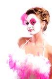 Ragazza del circo Fotografia Stock