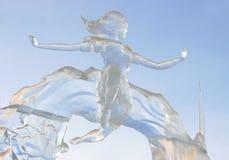 Ragazza del ghiaccio Fotografia Stock Libera da Diritti