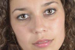 Ragazza del Latino del primo piano Fotografia Stock