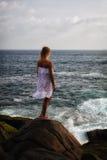 Ragazza del mare Fotografia Stock