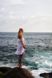 Ragazza del mare Immagini Stock Libere da Diritti