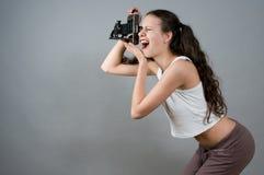 Ragazza del ritratto Fotografia Stock Libera da Diritti