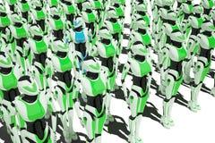 Ragazza del robot di Sci fi Immagine Stock Libera da Diritti