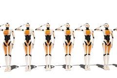 Ragazza del robot di Sci fi Immagini Stock Libere da Diritti