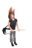 Ragazza del rock star Immagine Stock