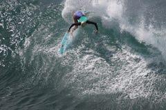 Ragazza del surfista Immagine Stock