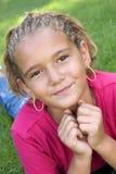 Ragazza dell'afroamericano Fotografia Stock