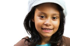 Ragazza dell'America latina sorridente Fotografia Stock