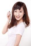 Ragazza dell'Asia fotografie stock