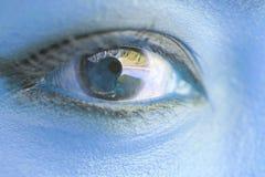 Ragazza dell'occhio Immagine Stock