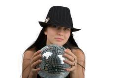 Ragazza della discoteca fotografia stock libera da diritti