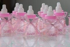 Ragazza della doccia di bambino Fotografie Stock