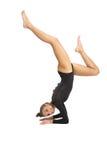 Ragazza della ginnasta Fotografia Stock