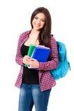 Ragazza dello studente Fotografie Stock Libere da Diritti