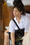Ragazza dello studente della Tailandia immagini stock