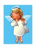 Ragazza di angelo illustrazione vettoriale