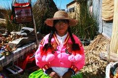 Ragazza di Aymara Immagine Stock Libera da Diritti
