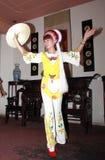 Ragazza di Bai di Dancing Immagine Stock Libera da Diritti