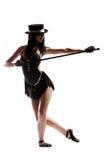 Ragazza di balletto Fotografie Stock