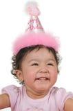 Ragazza di compleanno immagine stock