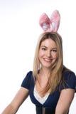 Ragazza di coniglietto Fotografia Stock Libera da Diritti
