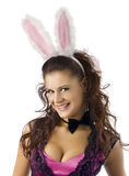 Ragazza di coniglietto sexy Fotografia Stock