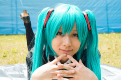 Ragazza di cosplay Fotografie Stock