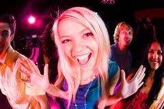 Ragazza di Dancing Immagine Stock Libera da Diritti