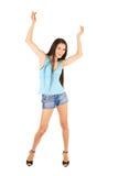Ragazza di Dancing Fotografie Stock Libere da Diritti